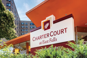Charter Court at East Falls sold for $47.25 million in March of 2014.