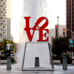 Philadelphia Love Statue Small Horizontal